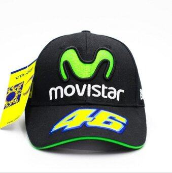 Harga New F1 MOTO GP Rossi VR 46 Mens Motorcycle Embroidery Adjustable Baseball Cap - intl