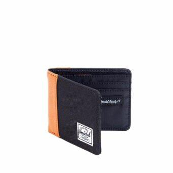 Harga Herschel Edward Wallet - Black/Tan