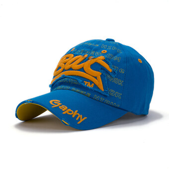 Harga Cityhome Hip Hop Hats for Men and Women(blue+yellow)
