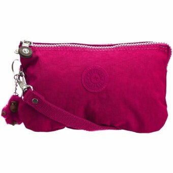 Harga Kipling Creativity Large Solid Pouch L Cosmetic Pouch Kipling Pouch Purse Travel Bag (include furry Kipling monkey key ring) - intl