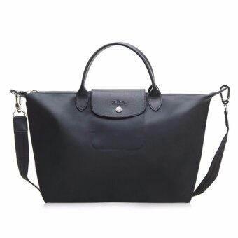 Harga Longchamp Women's Le Pliage Neo Handbag, Black,100% authentic guarantee - intl