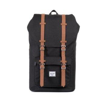 Harga Herschel Little America Backpack (Black/Tan)