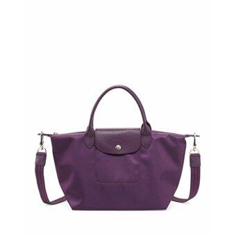Harga Longchamp Women's Le Pliage Neo Handbag,Violet,100% authentic guarantee - intl