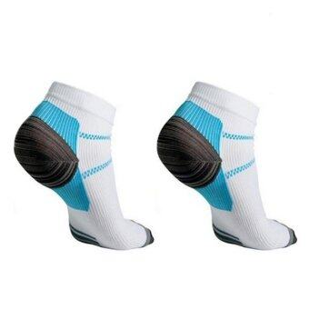 Harga Moonar Veins Socks Compression With the Spurs for Plantar Fasciitis Arch Pain L/XL - intl