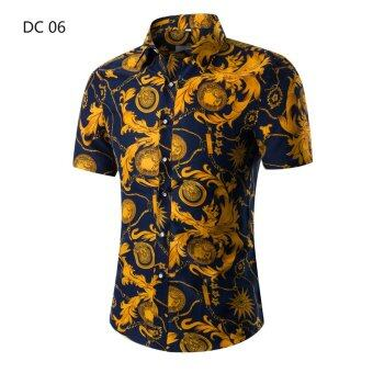 Harga Men's short-sleeved shirt printing