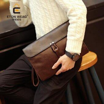Harga Tidog new men's hand bag tide IPAD clutch bag - intl