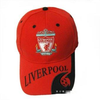 Harga Football Club Soccer Snapback Hat Adjustable Baseball Cap Liverpool - Red Color - intl