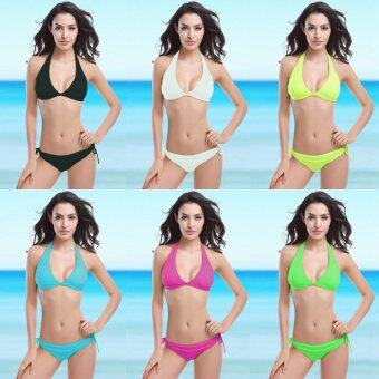 Harga Fashion Fashion Swimsuits Bikinis (White-15) - intl