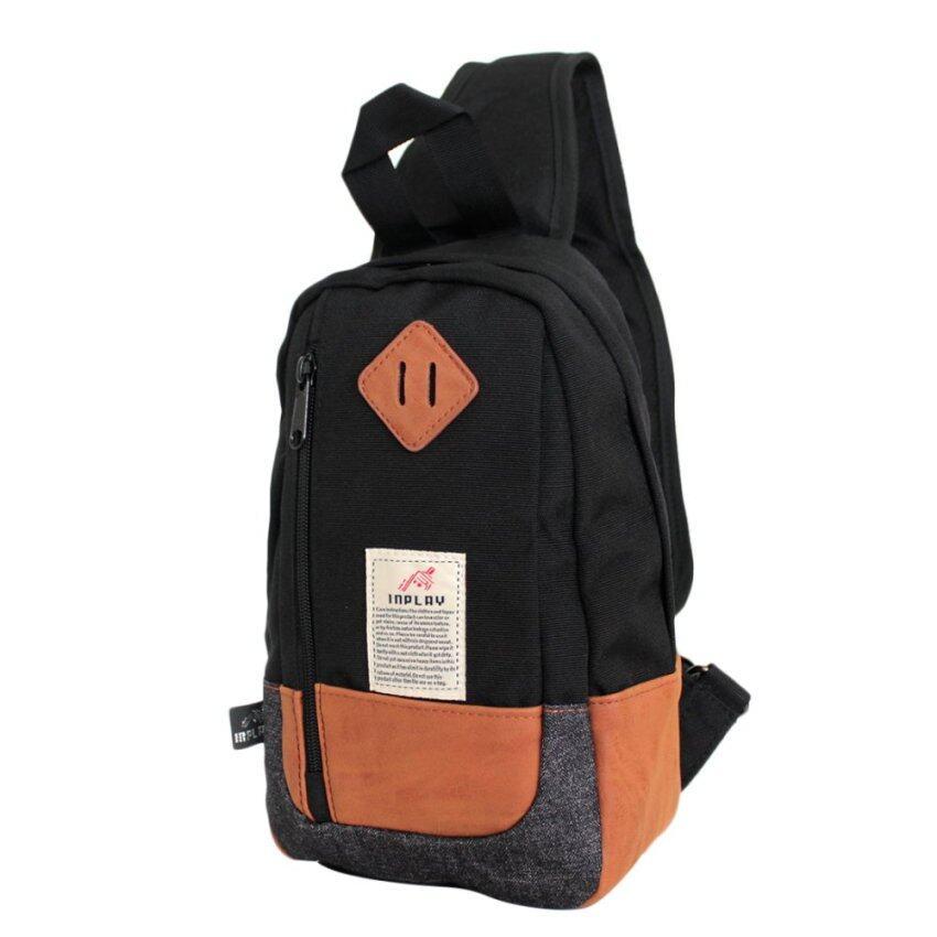 กระเป๋าคาดอก Inplay รุ่น IP0105 (สีกรม)