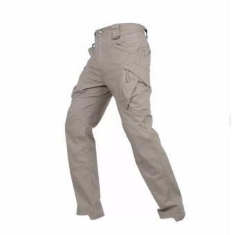 กางเกงขายาว กันน้ำ กางเกงใส่เดินป่า ท่องเที่ยว รุ่น ix9c (สีกากี)