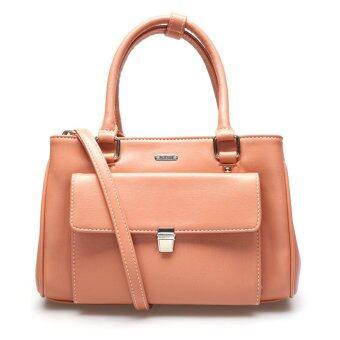 เปรียบเทียบราคา Jacob International กระเป๋าถือ รุ่น V4295 (Orange)