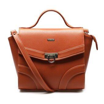 รีวิว Jacob International กระเป๋าถือ รุ่น V4296 (Brown)