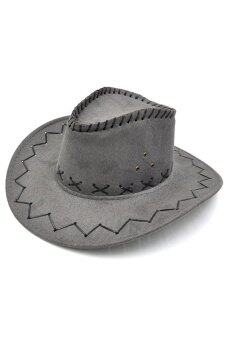 Jetting Buy Unisex Hat Cowboy Knight Western Visor Grey