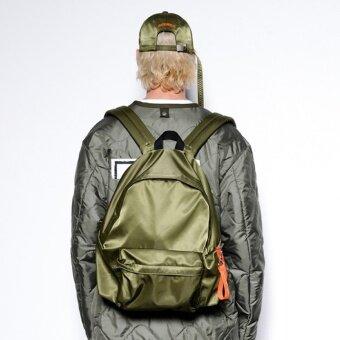 Jianyue โพลีเอสเตอร์สีทึบสาวเดินทางกระเป๋าสะพายกระเป๋า (กองทัพสีเขียว)