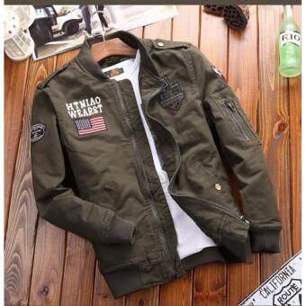 เสื้อแจ็คเก็ตสไตล์เท่ห์ JK23 - Green