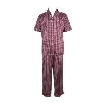 John Henry Underwear ชุดนอน รุ่น JU JU61701B สีแดง