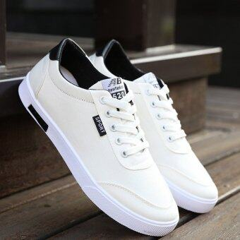 Harga JOY Korea Korean fashion Man low Top Sneakers (white)