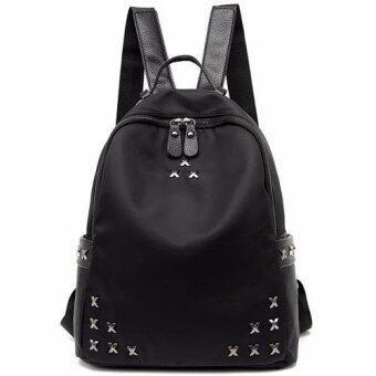 ลดราคา กระเป๋าสะพายหลัง กระเป๋าเป้ กระเป๋าแฟชั่นผู้หญิง รุ่นBA-078 (สีดำ)