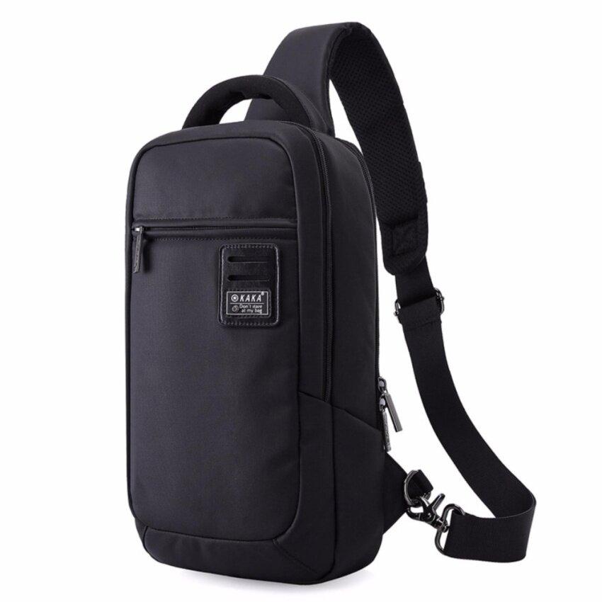 KAKA กระเป๋าคาดอก-หลัง Waterproof Multi-functional Korean Chest Bag รุ่น 99021 (สีดำ)