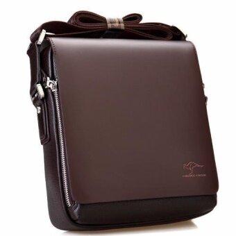 KANGAROO KINGDOM กระเป๋าสะพายข้าง Messenger Style Bag รุ่น 4363 (สีน้ำตาล)