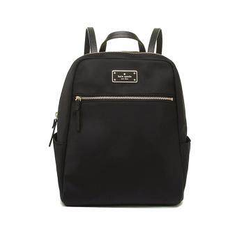 Kate Spade กระเป๋าเป้ (WKRU3525) Blake Avenue Hilo Small Nylon Backpack - สี Black