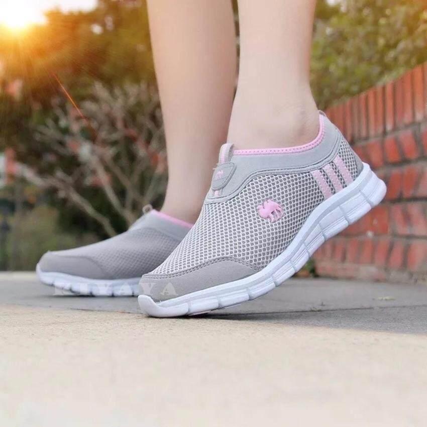 Kiyayaรองเท้าผ้าใบแฟชั่นเพื่อสุขภาพ รุ่น TP-1602-Grey
