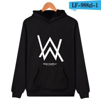 LF-988zl Fashion Alan Walker Faded Men Lovers Hip HopHoodies(Black) - intl