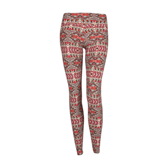 Liquido กางเกงโยคะ Patterned Long Legging Maya Dreams