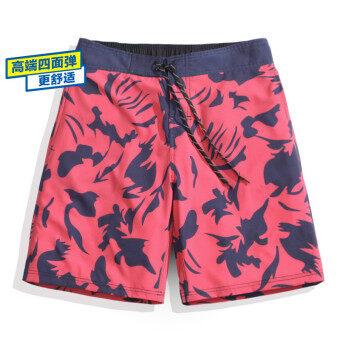 น้ำพุร้อนกางเกงว่ายน้ำชายกางเกงชายหาดหลวมอบแห้งอย่างรวดเร็วนักมวย (ชายรุ่นอัพเกรด Simiandan)