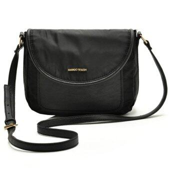 Lulugift Touch Sling Bag - Black ดำ