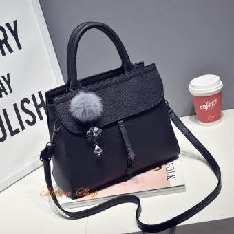 กระเป๋าถือ กระเป๋าสะพายพาดลำตัว กระเป๋าแฟชั่นเกาหลีMV-024/สีดำ