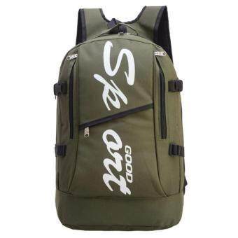 ต้องการขาย กระเป๋าสะพายหลัง สำหรับสุภาพบุรุษ รุ่น MB-015(สีเขียวทหาร) แบบสะพายหลัง