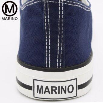 Marino รองเท้าผ้าใบผู้หญิง รุ่น A001 - สีน้ำเงิน (image 4)