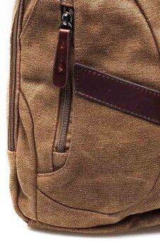 Marino Haversack made by canvas No.8661 (Brown) - 4