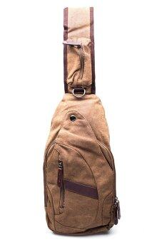 Marino Haversack made by canvas No.8661 (Brown)