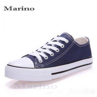 Marino รองเท้าผ้าใบผู้ชาย No. A002 - สีน้ำเงิน