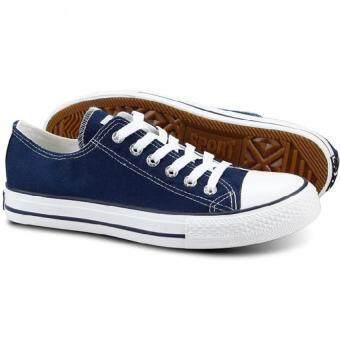 Marino รองเท้าผ้าใบผู้ชาย No. A002 - สีน้ำเงิน (image 4)