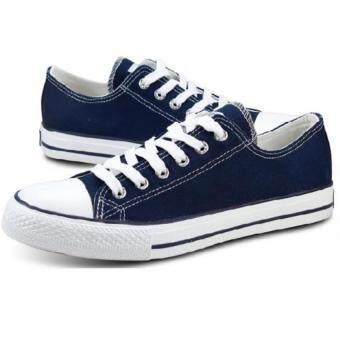 Marino รองเท้าผ้าใบผู้ชาย No. A002 - สีน้ำเงิน (image 1)