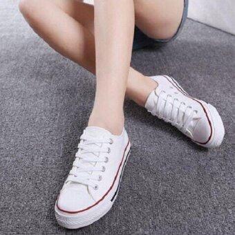 Marino รองเท้าผ้าใบผู้หญิง No.A001 - (สีขาว) (image 4)