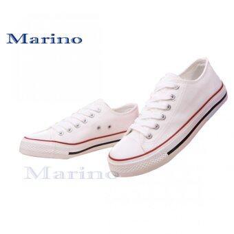 Marino รองเท้าผ้าใบผู้ชาย No.A002 - สีขาว (image 2)
