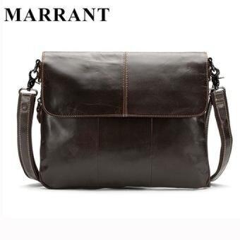 MARRANT Genuine Leather Men Bags Men's Crossbody Bag New Travel Bag Male Messenger Men Bags Leather Casual Shoulder Handbag Tote - intl