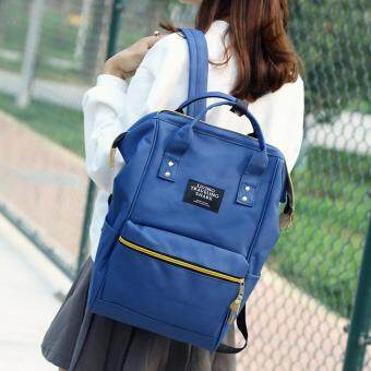 Marverlou กระเป๋า กระเป๋าเป้ กระเป๋าสะพายหลังสีกรม Woman Backpack No.2017 - D.Blue - 3