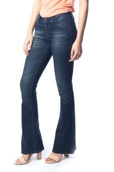 Mc Jeans Bootcut Fit Jeans WAH7146 - สีน้ำเงิน - 2