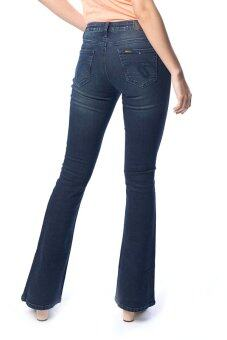Mc Jeans Bootcut Fit Jeans WAH7146 - สีน้ำเงิน - 3