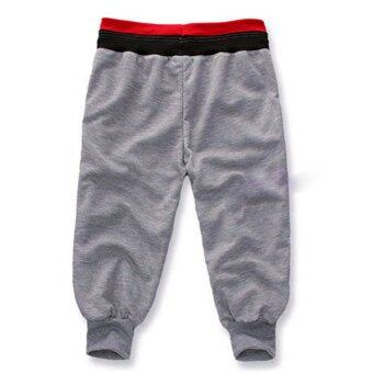 Harga Men Baggy Casual Sports Shorts(Gray)