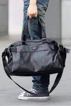 สนใจซื้อ กระเป๋าสะพาย แฟชั่น สำหรับผู้ชาย รุ่น IN1676 (สีดำ)
