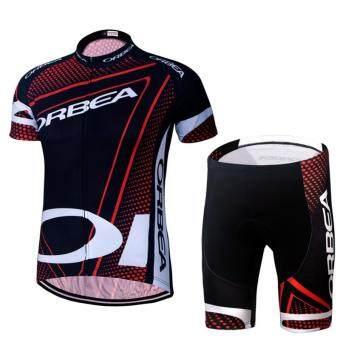 ชายเสื้อขี่จักรยานและกางเกงขาสั้นชุด QUICK DRY GEL เสื้อผ้า