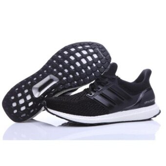 Harga Men Running shoes for Ultra Boost 3.0 Black/white - intl