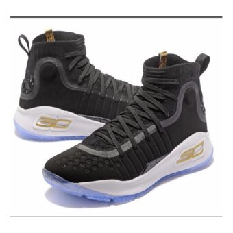 Harga Men Sneakers For Curry 4 Basketball Shoes(black/white) - intl