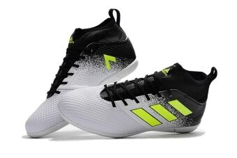 Harga Men Sport Shoes ACE 17.3 Primemesh IC Black White - intl